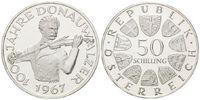 50 Schilling 1967 Österreich, 100 Jahre Donauwalzer, PP  35,00 EUR