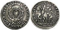 Scudo 1747,  Italien/Lucca, Republik von 1369-1799, ss  229,00 EUR  zzgl. 6,40 EUR Versand