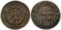 Daler Silvermynt 1718, Schweden, Karl XII., 1697-1718, Notmünze, f.ss  34,00 EUR  zzgl. 6,40 EUR Versand