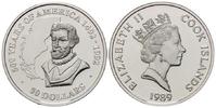 50 Dollars 1989 Cook Islands, Magellan, PP  30,00 EUR