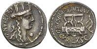 AR Denar (67 v.Chr.), Röm. Republik, M. Plaetorius M.f.Cestianus, 67 v.... 263,00 EUR kostenloser Versand