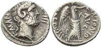 AR Denar (31 v.Chr), Röm. Republik, L. Pinarius Scarpus, 31 v.Chr., ss  489,00 EUR kostenloser Versand
