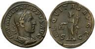AE Sesterz, Rom,  Röm. Reich, Philipp I., 244-249, ss  228,00 EUR kostenloser Versand
