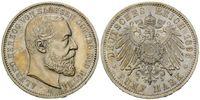 5 Mark 1895, Sachsen-Coburg-Gotha Alfred, 1893-1900, fein.Kr., st  5495,00 EUR kostenloser Versand