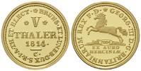 10 Taler 1814 (NP 2004) Braunschweig, Georg III., 1760-1820, PP  165,00 EUR