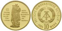 10 Mark 1985 (NP 2003) DDR, 40. Jahrestag des Sieges über den Hitlerfas... 165,00 EUR