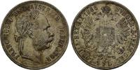Österreich, Florin 1886 f.vz Franz Joseph I., 1848-1916, 35,00 EUR  zzgl. 6,40 EUR Versand