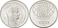 1000 Lire 1970 Italien, 100 Jahre Hauptstadt Rom, st  18,00 EUR