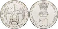 50 Rupien 1976 Indien, FAO, st  35,00 EUR