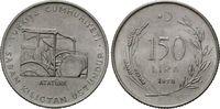 150 Lira 1978 Türkei, FAO, st  15,00 EUR