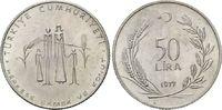 50 Lira 1977 Türkei, FAO, st  12,00 EUR