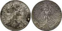 Frankfurt, Taler 1865, ss Freie Stadt, 1815-1866, 28,00 EUR  zzgl. 6,40 EUR Versand