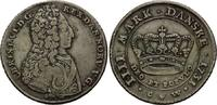 Krone (4 Mark) 1731 CW Dänemark, Christian VI., 1730-1746, ss  445,00 EUR  zzgl. 9,40 EUR Versand