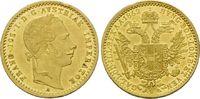 Haus Habsburg, Dukat 1862 A vz/st Franz Joseph I., 1848-1916, 395,00 EUR  zzgl. 9,40 EUR Versand