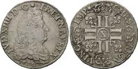 1/2 Ecu aux 8 L 1690 X Frankreich, Ludwig XIV., 1643-1715, ss  249,00 EUR  zzgl. 6,40 EUR Versand