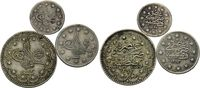 5 Kurush 1293/33=1907 Türkei, Abdul Hamid II., 1876-1909, 3 Stk., ss-vz  23,00 EUR  zzgl. 6,40 EUR Versand