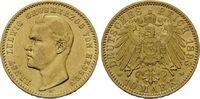 10 Mark 1893, Hessen, Ernst Ludwig, 1892-1918, vz/st  2665,00 EUR kostenloser Versand