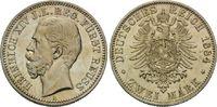 2 Mark 1884 Reuss, Heinrich XIV., 1867-191...