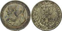 5 Mark 1915 Mecklenburg-Schwerin, Friedrich Franz IV., vz-st  795,00 EUR