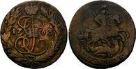 2 Kopeken 1763 MM Russland, Katharina II. die Große, 1762-1796, s  14,00 EUR kostenloser Versand