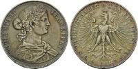 Frankfurt, Vereinstaler 1861 ss-vz Freie Stadt, 1815-1866, 385,00 EUR  zzgl. 9,40 EUR Versand
