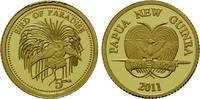5 Kina 2011 Papua-Neuguinea, Paradiesvogel - Birds of Paradise, PP  60,00 EUR