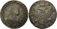 Rubel, 1753, Russland, Elisabeth Petrovna, 1741-1761 ss+  545,00 EUR  zzgl. 9,40 EUR Versand