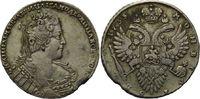 Rubel, 1733 Russland, Anna, 1730-1740 ss  615,00 EUR  zzgl. 9,40 EUR Versand