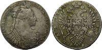 Rubel, 1734 Russland, Anna, 1730-1740 ss  645,00 EUR  zzgl. 9,40 EUR Versand