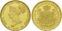 40 Lire 1821, Italien-Parma, Maria Luicia,...