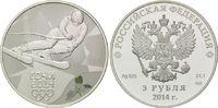 3 Rubel 2014, Russland, Paralympische Spiele in Sotchi 2014 - Abfahrtsk... 54,00 EUR  zzgl. 6,40 EUR Versand