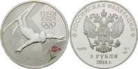3 Rubel 2014, Russland, Olympische Spiele in Sotchi 2014 - Trick-Ski, PP  54,00 EUR  zzgl. 6,40 EUR Versand