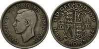 1/2 Crown 1934, Großbritannien, Georg VI., 1895–1952, ss  6,00 EUR  zzgl. 6,40 EUR Versand
