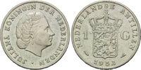 1 Gulden 1952, Niederländische Antillen, Juliana, 1948-1980, vz  12,00 EUR  zzgl. 6,40 EUR Versand