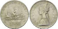 500 Lire 1958, Italien,  vz  8,00 EUR  zzgl. 6,40 EUR Versand