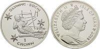 1 Crown 2014, Isle of Man, Olympische Spiele in Sotchi 2014 - Abfahrtsk... 19,95 EUR19,00 EUR  zzgl. 6,40 EUR Versand