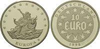 10 Euro 1998, Deutschland, 10 Euro Medaille, Europa auf dem Stier, l.be... 8,00 EUR  zzgl. 6,40 EUR Versand