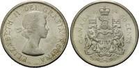 50 Cents 1964, Kanada, Elisabeth II., seit 1952, vz-st  9,00 EUR  zzgl. 6,40 EUR Versand