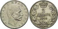 2 Dianara 1915, Serbien, Peter I., 1903-1918, ss  6,00 EUR  zzgl. 6,40 EUR Versand
