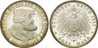 3 Mark 1917, Deutschland, Friedrich der Weise, Nachprägung von 1991, PP... 35,00 EUR  zzgl. 6,40 EUR Versand