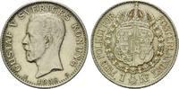1 Krone 1938, Schweden, Gustav V., 1907-1950, f.vz  12,00 EUR  zzgl. 6,40 EUR Versand