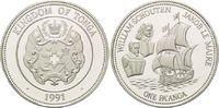 1 Pa´anga 1991, Tonga, Entdecker - Willem C. Schouten und Jacob le Mair... 29,00 EUR kostenloser Versand