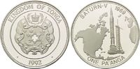 1 Pa´anga 1992, Tonga, Raumfahrt, Saturn-V Weltraumflug 1969 offene PP  29,00 EUR kostenloser Versand
