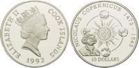 10 Dollars 1992, Cook Inseln, Nicolaus Kopernicus 1473 - 1543 offene PP  29,00 EUR kostenloser Versand