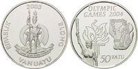 50 Vatu 2003, Vanuatu, Olympiade Sydney 2004, Fackelträger Antik und Ne... 26,00 EUR kostenloser Versand