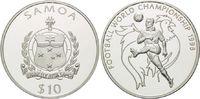 10 Tala 1998, Samoa, Fußball WM 98 Frankreich, Spieler vor Gallischem H... 18,50 EUR kostenloser Versand