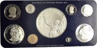 Proof-Set 1977, Panama, Kursmünzensatz der Franklin Mint, Orig.-Etui, Z... 135,00 EUR kostenloser Versand