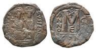 AE Follis Jahr E=570/571, Byzanz, Justin II., 565-578, ss  52,00 EUR  zzgl. 6,40 EUR Versand