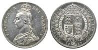 Halfcrown 1887,  Grossbritannien, Victoria, 1837-1901, vz  138,00 EUR  zzgl. 6,40 EUR Versand