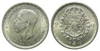 2 Kronen 1945 G,  Schweden, Gustaf V., 1907-1950, vz  19,00 EUR  zzgl. 6,40 EUR Versand